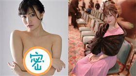 高橋聖子上周出席北海道「夕張國際奇幻影展」。(組合圖/翻攝自高橋聖子推特)