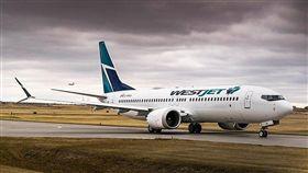 波音737 MAX 8,圖為西捷航空(圖/翻攝自維基百科)