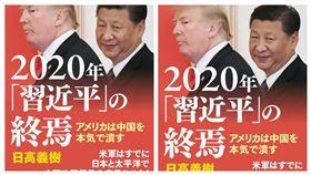 日高義樹2月發表新書,內容提到,他認為美方在日本、太平洋地區部署武力,是真心想要粉碎中國。(圖擷取自e-hon網路書店)