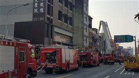 宜蘭,火警,受困(圖/翻攝自宜蘭知識+臉書)