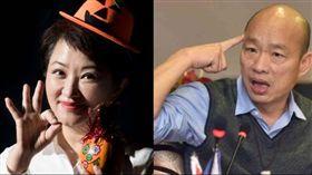 盧秀燕,韓國瑜,2020,總統,領表,國民黨 圖/盧秀燕臉書,高市府提供
