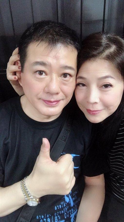 資深藝人安迪病逝百日,遺孀陳慧娥(阿娥)在臉書發文。(圖/阿娥臉書)