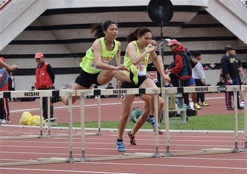 ▲鄭唐秀跑出13秒55取得亞洲田徑錦標賽參賽資格。(圖/鄭唐秀提供)