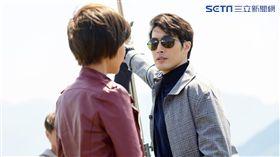 錦榮首度客串演出八點檔戲劇。(圖/TVBS提供)