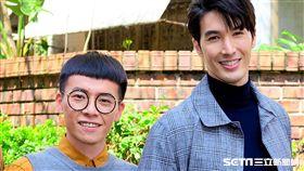 游小白(左)自曝在錦榮舊愛蔡依林新MV中有「大方」演出。(圖/TVBS提供)