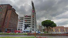 新北,汐止,跳樓,墜樓,停車場,輕生,自殺(圖/翻攝自Googlemap)