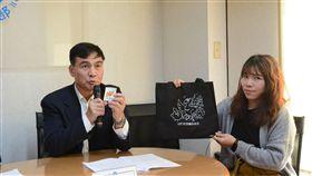 民政司長林清淇13日說明今年「言論自由日」系列活動。(圖/內政部提供)