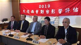▲偏藍智庫「台灣競爭力論壇」召開記者會,評估大陸兩會對台影響。(圖/記者林仕祥攝)