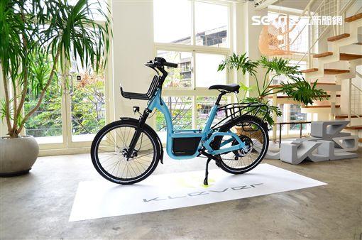 ▲Klever電動輔助自行車。(圖/鍾釗榛攝影)
