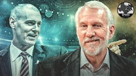 NBA/卡帥盛讚史上最佳 波總神回 NBA,聖安東尼奧馬刺,Gregg Popovich,Rick Carlisle,神回應 翻攝自推特ClutchPoints