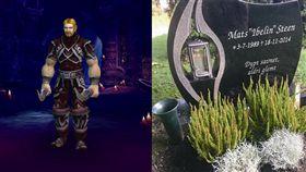 魔獸世界,挪威,Mats Steen,罕病,去世,公會,Robert Steen。翻攝自Robert Steen臉書