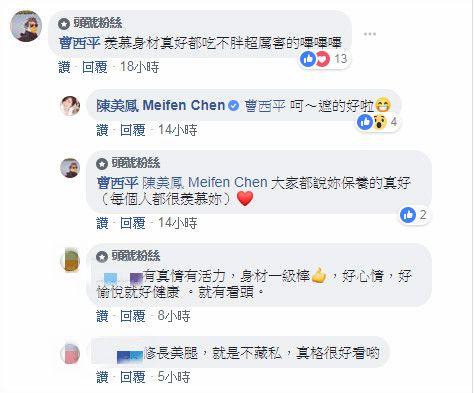 陳美鳳/翻攝自陳美鳳臉書
