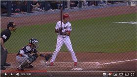 ▲國民新秀齊布(Carter Kieboom)連兩打席砲轟韋蘭德。(圖/翻攝自Cubs Baseball YouTube)