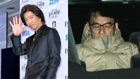 瀧正則(右)演出木村拓哉首度主演的PS4電玩。