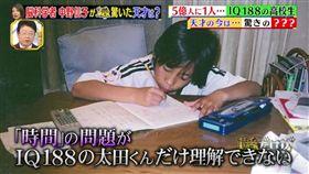 日本智商188天才少年,卻淪為失業男子。(圖/翻攝自《1番だけが知っている》)