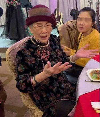 梅艷芳 母親 (圖/微博)
