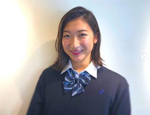 日本泳將池江璃花子患白血病,個人推特抒發感情。(圖/翻攝自池江璃花子 IG)