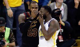 NBA/格林加入詹皇黨!換經紀公司 NBA,金州勇士,Draymond Green,LeBron James 翻攝自推特