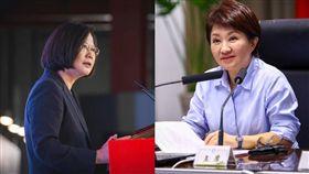 蔡英文總統、台中市長盧秀燕/臉書
