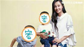 馬雅舒子女米雅、愛登 圖/中天電視提供