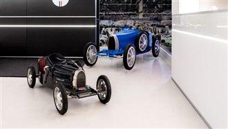 富2代專屬玩具 布加迪推出電動車