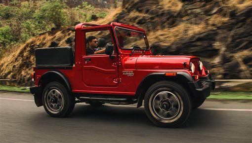 ▲Mahindra Thar Adventure Series越野車。(圖/翻攝網站)