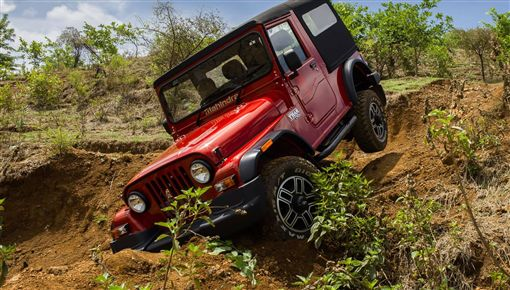 ▲Mahindra Thar Adventure Series越野車。(圖/翻攝網站)