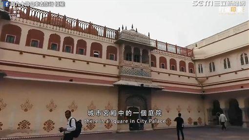 參觀城市宮殿。(圖/跟九十路公車去旅行臉書授權)