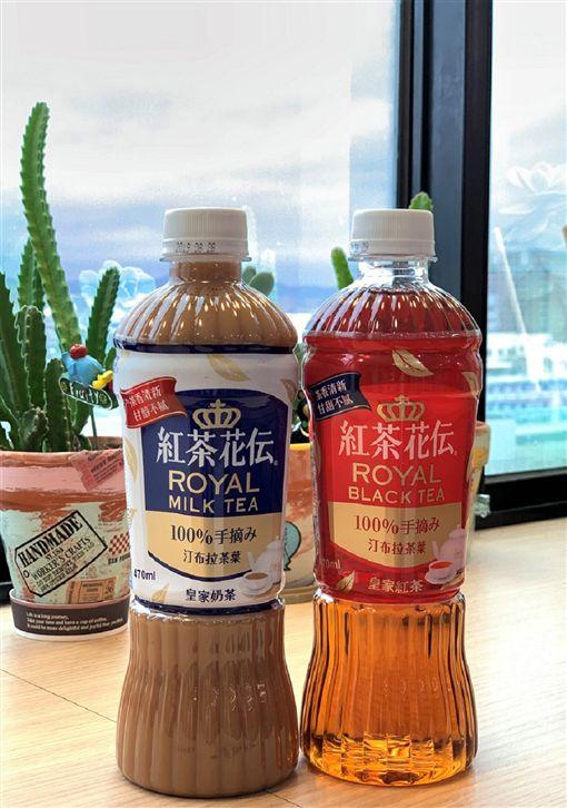 日本人氣飲料紅茶花傳台灣超商開賣。(圖/業者提供)