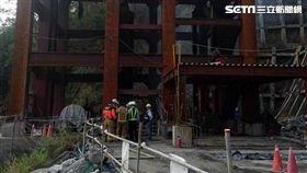 工人,南化水庫,火警,台南,翻攝畫面