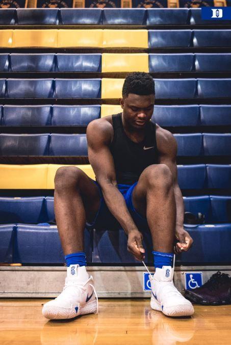 NBA/怕!威廉森復出不穿喬治的鞋NBA,杜克大學,NIKE,Zion Williamson翻攝自杜克大學籃球隊官方推特
