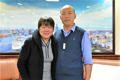 黃光芹訪問韓國瑜市長後遭韓粉恐嚇將對家人不利。(圖/翻攝自臉書)