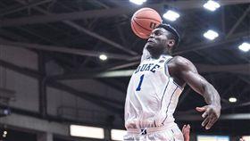 籃球/威廉森復出 怪物數據率杜克勝 NBA,杜克大學,Zion Williamson 翻攝自推特