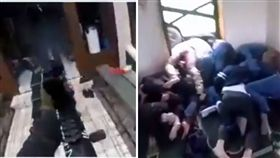 紐西蘭基督城15日發生恐怖槍擊案!一名槍手攻擊清真寺時,「見人就殺」,就連龜縮在地上的民眾都無一倖免,宛如把殺人當成射擊遊戲。攻擊影片曝光後,掀起網友熱議,紛紛怒轟:「太誇張了!」(圖/翻攝自推特)