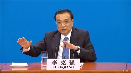中國大陸,李克強,一個中國,全國人大二次會議(圖/翻攝自Youtube CCTV Video News Agency)