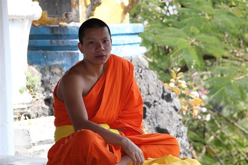 泰國,僧侶,上吊 圖/取自Pixabay