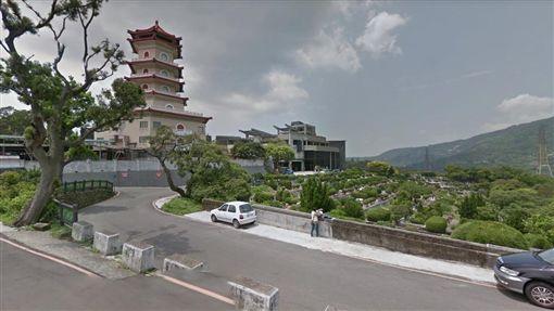 陽明山第一公墓(圖/翻攝自Google地圖)