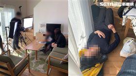 兩台男前往日本拍AV與暗黑女神實戰啪啪啪。 圖/中指通授權使用