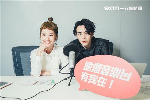Lulu跨足主持廣播,首集來賓邀來李友廷。(圖/KKBOX提供)