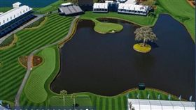 ▲TPC Swagrass球場第17洞全貌。(圖/翻攝自PGA Tour官網)
