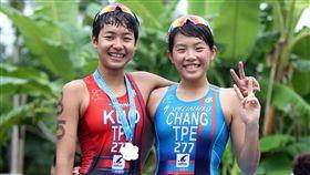 ▲郭家齊希望在台南安平鐵人三項跑出好成績。(圖/鐵人三項協會提供)