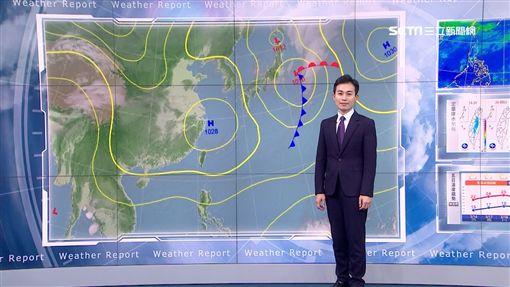 三立準氣象0316/下周一晚鋒面接近