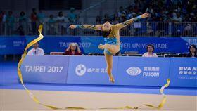 ▲宋語涵為台北世大運中華隊韻律體操國手之一。(圖/記者蔡宜瑾攝影)