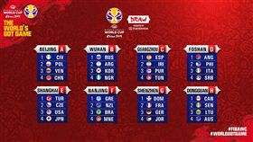 ▲男籃世界盃抽籤底定。(圖/取自FIBA官網)
