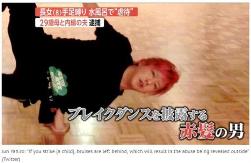 日本情侶虐童,將8歲女手腳困綁全裸放進冷水浴缸。(圖/翻攝tokyoreporter網站)