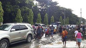 印尼暴洪。(圖/翻攝自推特)