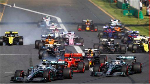 ▲F1新賽季澳洲墨爾本開跑。(圖/翻攝自F1官網)