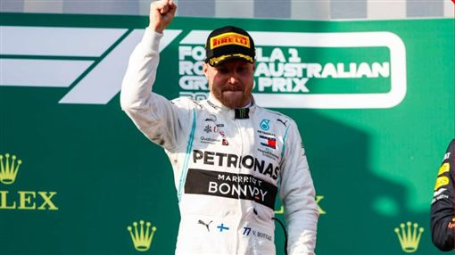 ▲波塔斯拿下生涯第4個分站冠軍。(圖/翻攝自F1官網)