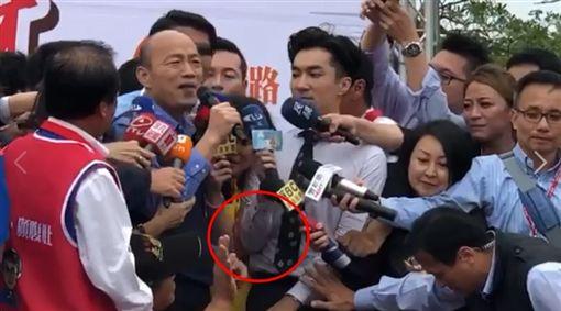 王文正、韓國瑜/翻攝記者臉書