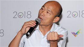 韓國瑜辯論後記者會(圖/記者邱榮吉攝)